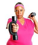 fitness lady